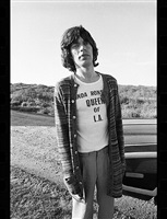 mick jagger by christopher makos