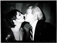 andy warhol kissing liza minelli by christopher makos