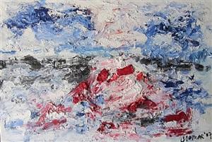 seascape: white sea i by jan cremer