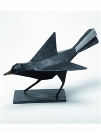 blackbird listening by terence coventry