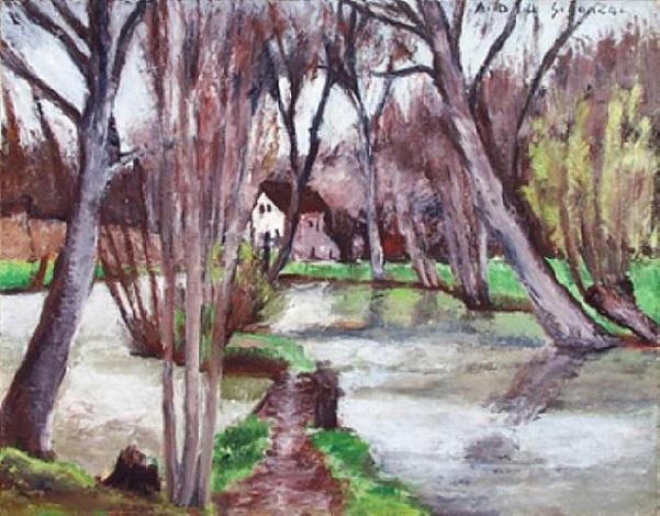 printemps by andré dunoyer de segonzac