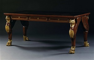 writing table by georges-alphonse jacob-desmalter by georges-alphonse jacob