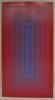 red to blue portal by richard anuszkiewicz