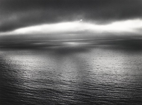sun over the pacific devils slide by minor white