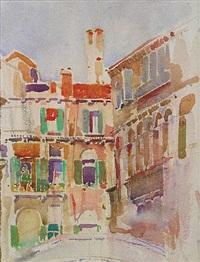 canal houses, venice, italy by louis i. kahn