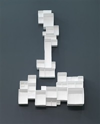 aggregated stacks, #1 by andrea zittel