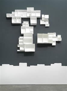 aggregated stacks, #2 by andrea zittel