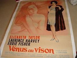 film posters: vénus au vision