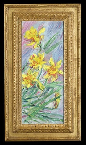 jonquilles (daffodils) by claude monet