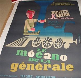 film posters: le mécano de la générale