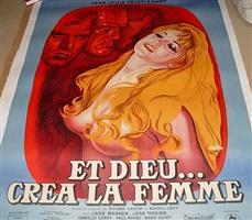 film posters: et dieu crea la femme