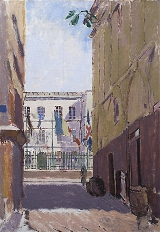 celebrations, dieppe by walter richard sickert