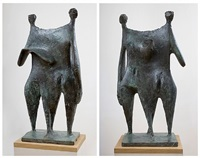linked figures by kenneth armitage