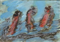 sans titre (kc 505) by henri michaux