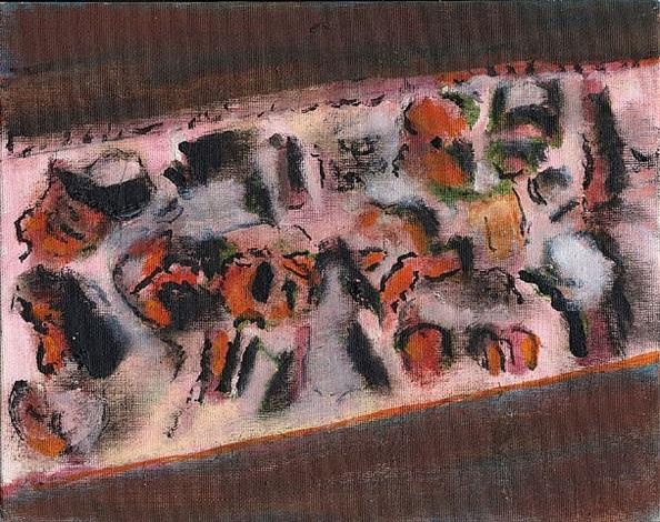 sans titre (mp 1386) by henri michaux
