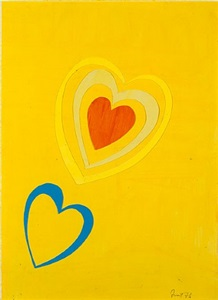 spring hearts by sir terry frost