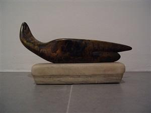 nu lying horizontal by alexander archipenko