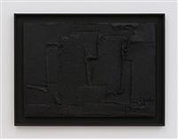 materiebild schwarz by adolf luther