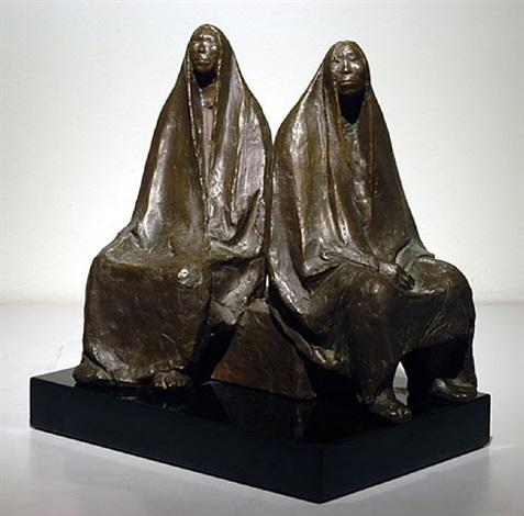 las comadres (madre e hija) by francisco zúñiga