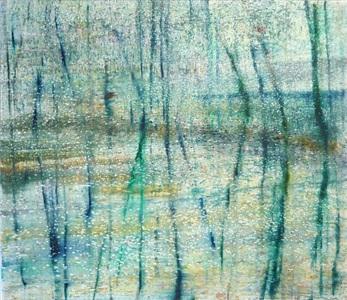 blaues wasser 2 by matthias meyer