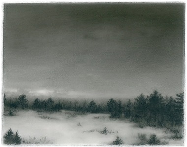 snow field by dozier bell