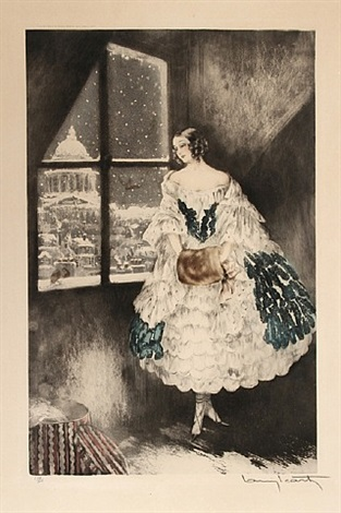 mimi by louis icart