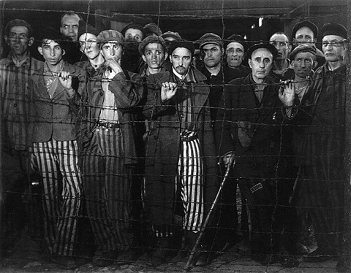 buchenwald prisoners, 1945 (time inc.) by margaret bourke-white