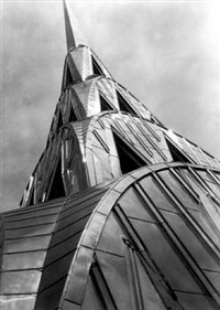 chrysler building, new york city, 1931 (c. time inc.) by margaret bourke-white