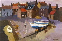 boats on the quay, crall by donald mcintyre