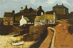 snow craster on north side by donald mcintyre