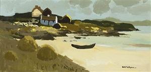 curragh, mannin bay by donald mcintyre