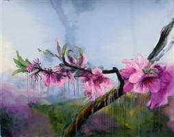gentle wind light cloud by zhou chunya