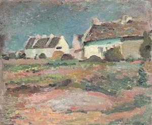 maisons à kervilahouen, belle-ile by henri matisse
