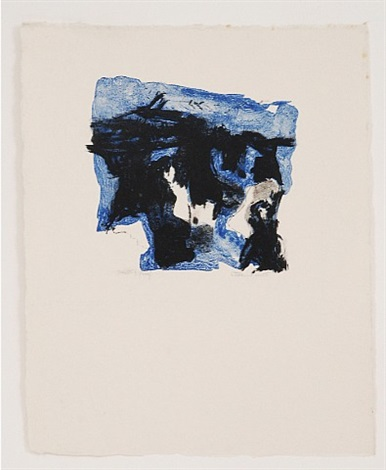 untitled (five lithographs iii) by esteban vicente