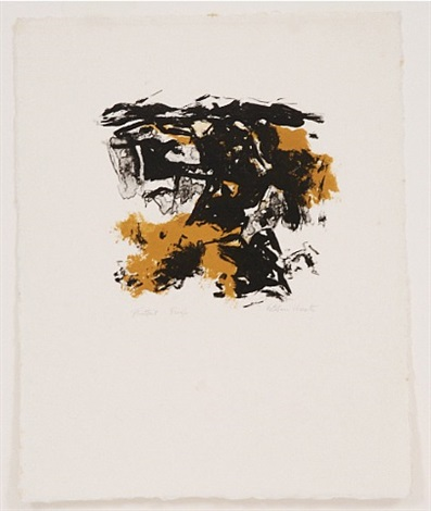 untitled (five lithographs iv) by esteban vicente