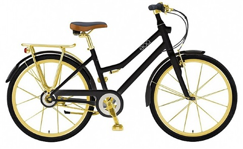 giant citystorm bike black/gold by michael young