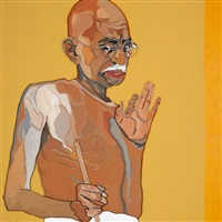 gandhi by lee waisler