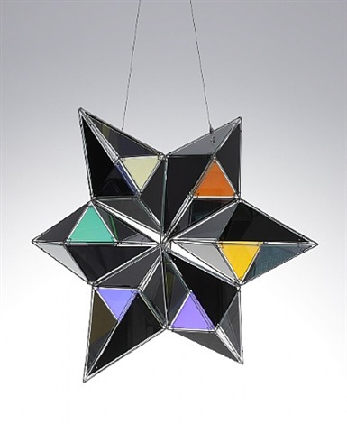 black moving star by olafur eliasson