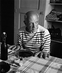 les pains de picasso by robert doisneau