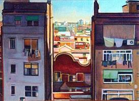 barcelona balcony by biff elrod