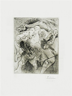 marie-thérèse en femme torero by pablo picasso