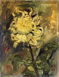 chrysanthemum by kurt schwitters