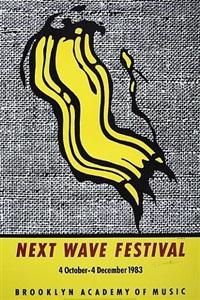 next wave festival by roy lichtenstein