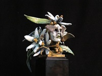 butterfly head with yucca by ted gall