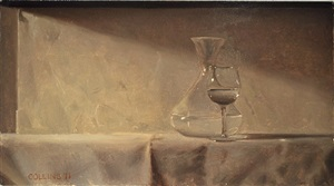 study for glasses ii by jacob collins