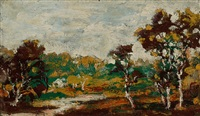 middletown landscape by ralph albert blakelock