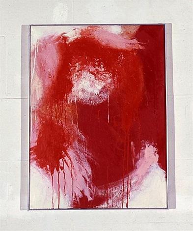 rot auf weiß by arnulf rainer