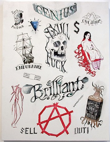possible tattoos by william powhida