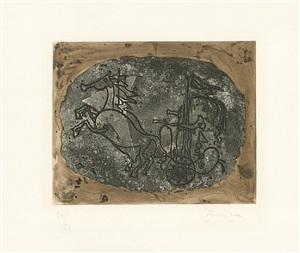 char noir (char v) (schwarzer wagen (wagen v)) by georges braque
