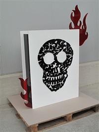 skull tattoo by antonio cagianelli